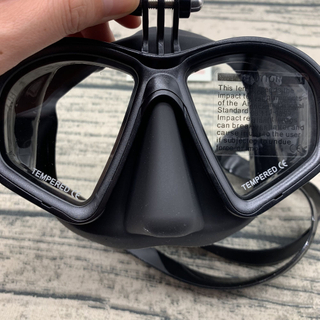 DIVING Professional Silicone Scuba Dive Mask Gear Equipment Goggles For Nearsighted Men Women Spearfishing Myopia Lens