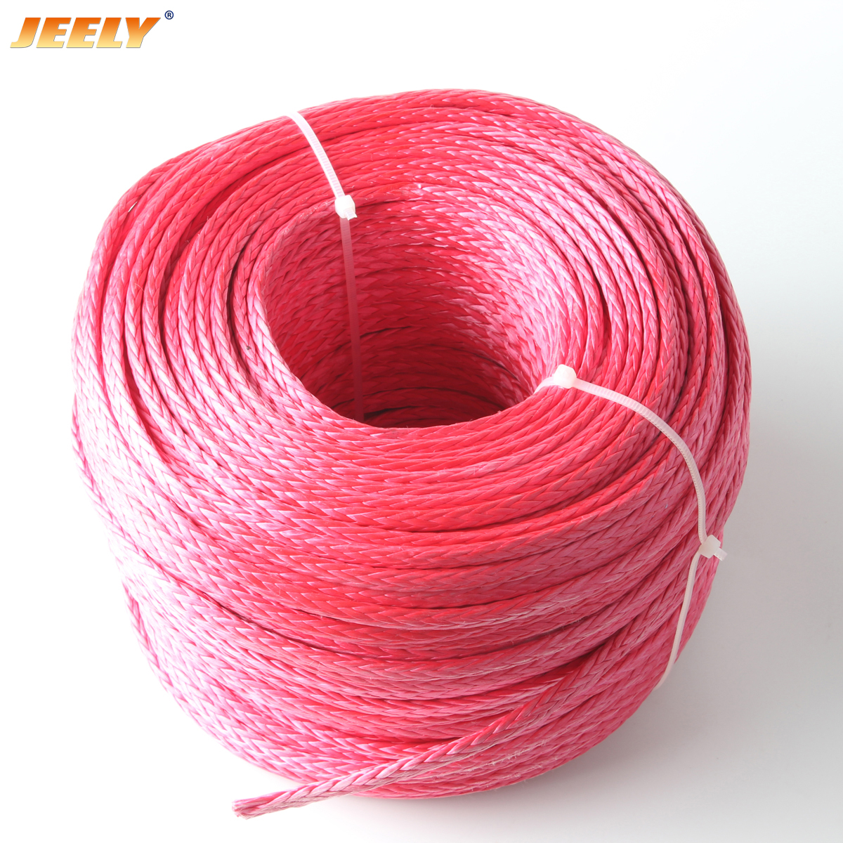 18mm 200m UHMWPE Towing Winch Rope 12strands Braided