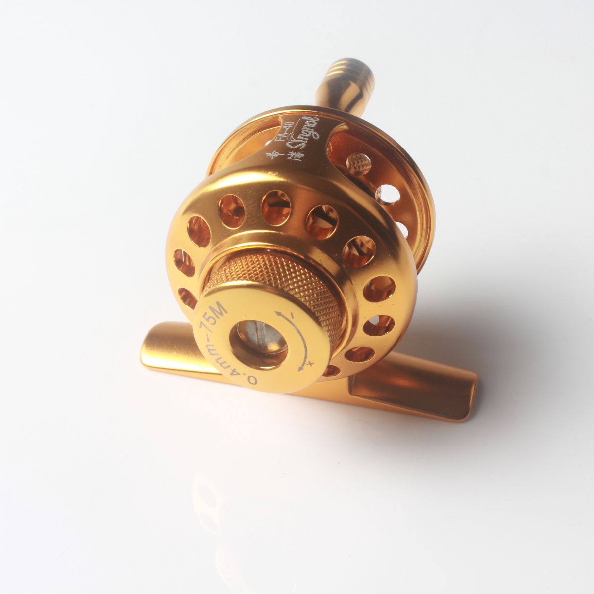 FA40 CNC Aluminum Frame and Spool One-way Ball Bearing Fly Fishing Reel Tackle