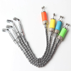 Four Colors Carp Fishing Swinger with Stainless Steel Chain