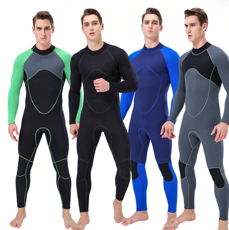Long Sleeves Diving Wetsuits for Men