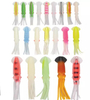 Colorful soft octopus skirt fishing lure