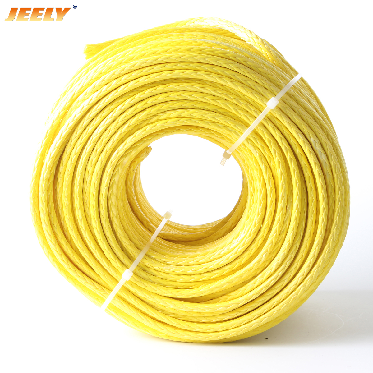 Uhmwpe hollow braid 10mm 12 strands marine rope
