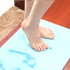 Different color diatomite bath mat board water-absorbing bathroom mat 300mm*200mm