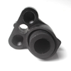 Spearfishing close speargun muzzle
