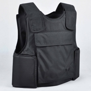 Customized NIJ IIIA 9mm .44Magnum Ballistic Panel Inserted Bulletproof Jacket