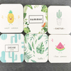 100*100mm Customization Color printing Diatomite Bath Mat diatomite tea cup coaster