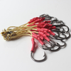 Stainless Steel Jigging Hooks With Aramid Line Saltwater Fishing Boat Fishing